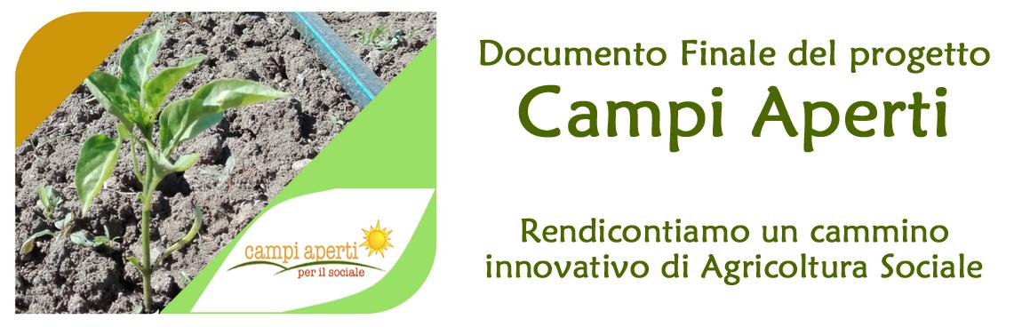 Campi Aperti - Documento finale di progetto
