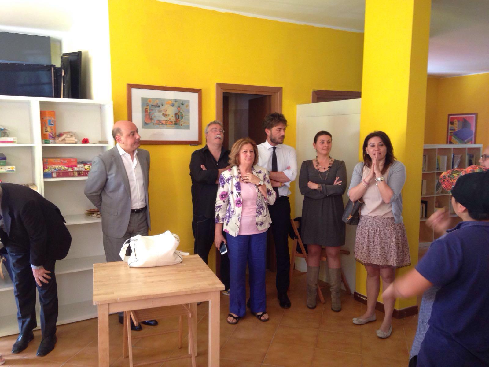 """Inaugurazione di """"Tutti al Centro"""", il nuovo CAG di Santa Palomba - foto da lnx.luisalaurelli.com"""