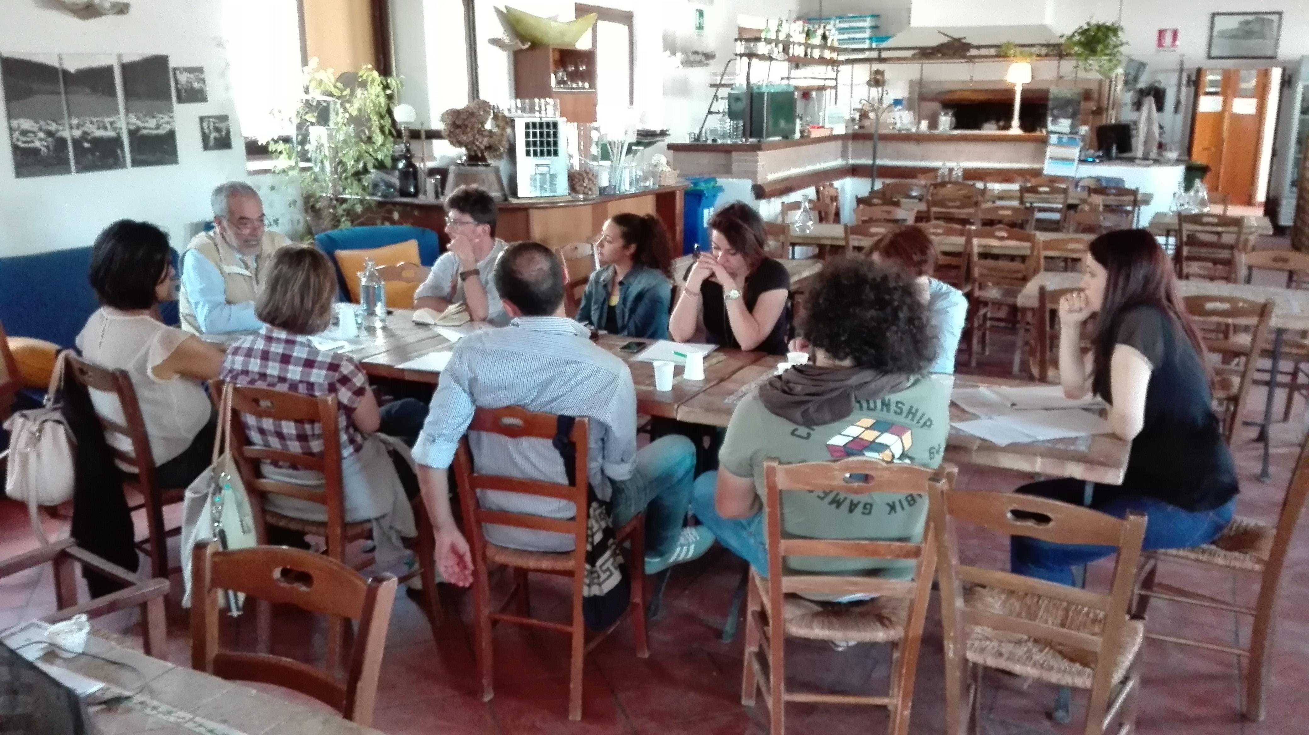 """Il focus group dei referenti di servizi e partner di Kairos - Workshop """"Campi Aperti - La strada fatta e quella da fare"""""""