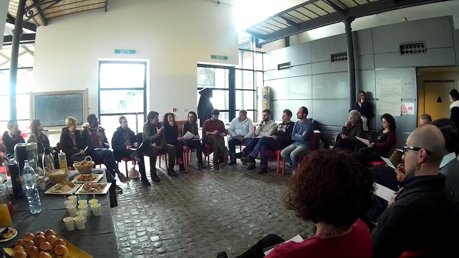 """Il tavolo di lavoro """"Mobilità umana e agricoltura sociale"""" dell'AgriLab Oltre la Gelata - 9 febbraio alla Città dell'Altra Economia, Roma"""