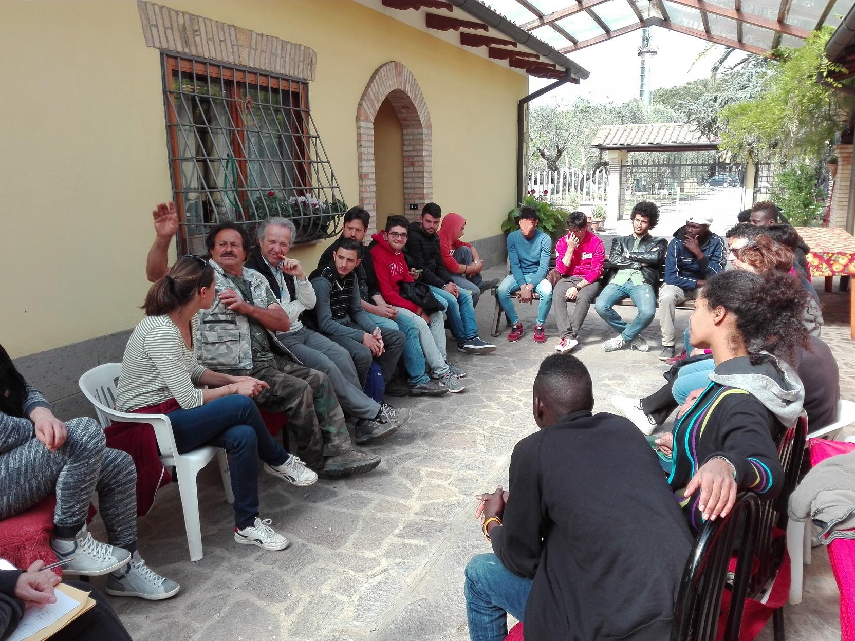 Giornate di Agricoltura Sociale. Il cerchio iniziale nell'Azienda Agricola D'Alesio