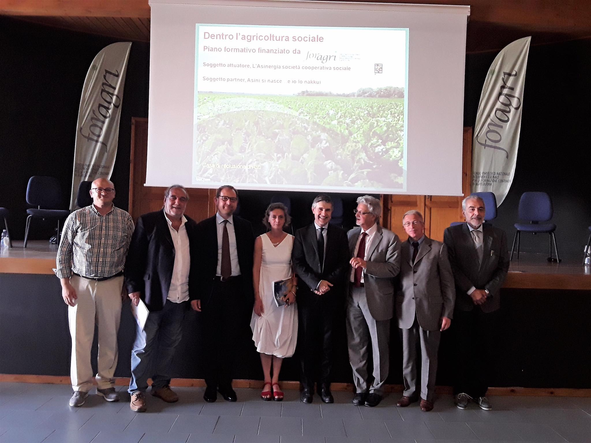 Nella casa circondariale di Asti, il convegno di ForAgri sulle opportunità offerte dall'agricoltura sociale anche ai detenuti