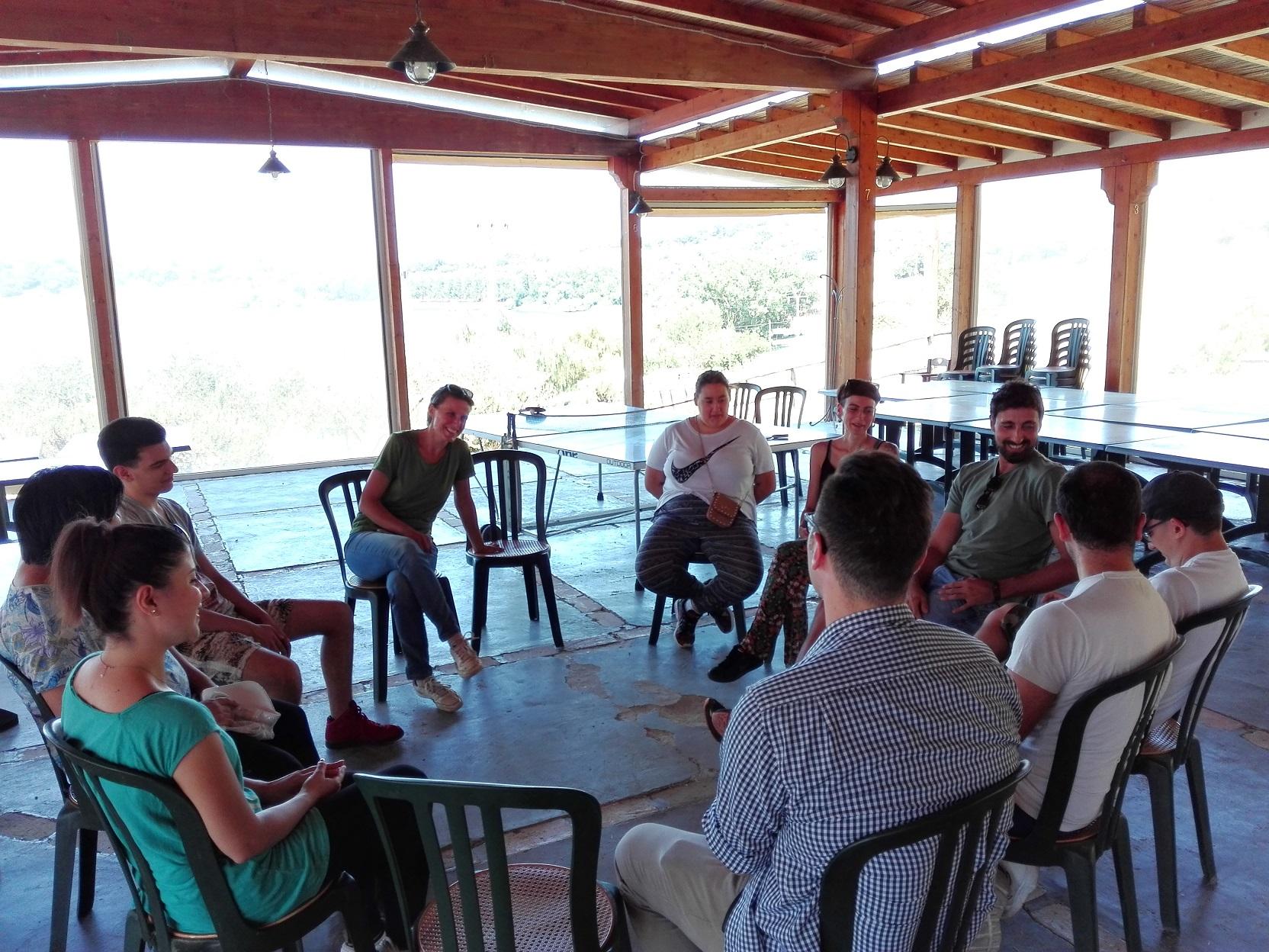 Il cerchio delle Giornate di Agricoltura Sociale al Casale di Martignano