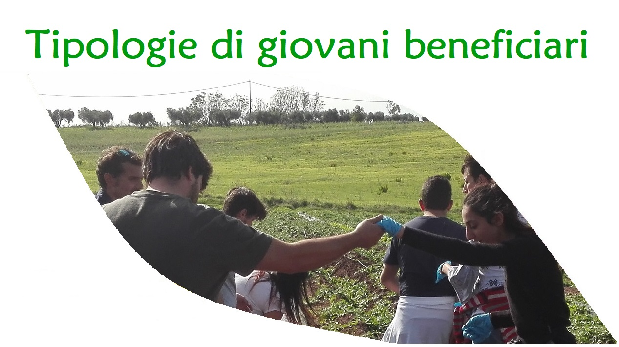 I beneficiari dell'agricoltura sociale