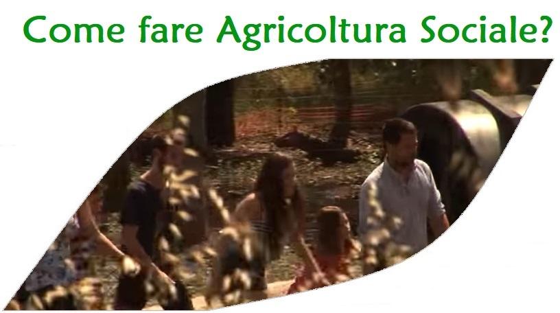 Come fare agricoltura sociale
