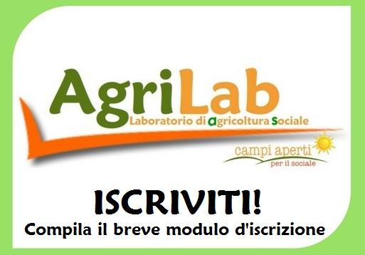 Iscriviti all'AgriLab! Compila il modulo online