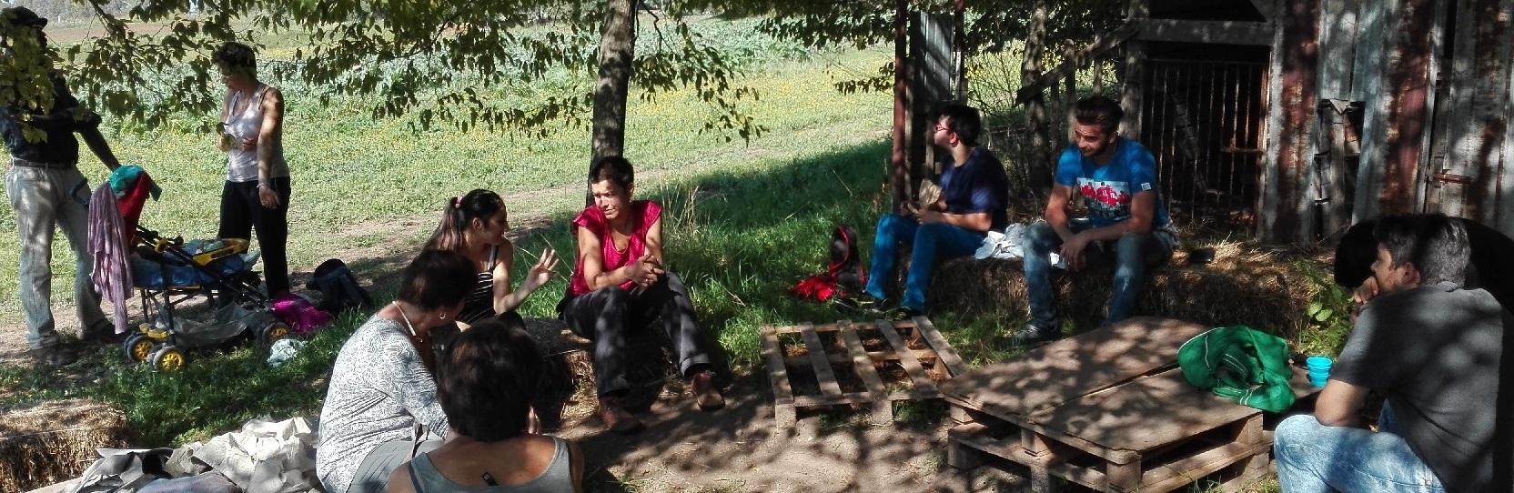 Provare un'esperienza di inclusione con l'agricoltura sociale negli orti biologici de La Nuova Arca era l'obiettivo della prima delle Giornate di Agricoltura Sociale