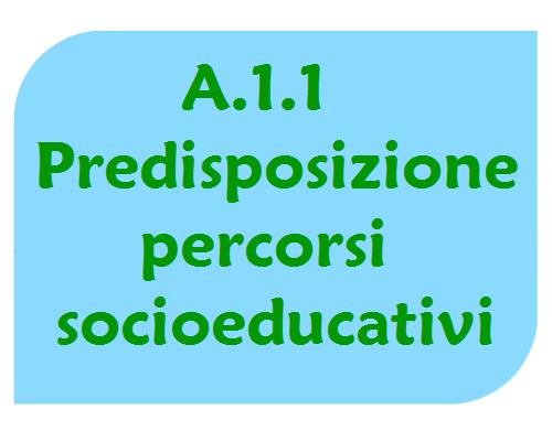 Predisposizione dei percorsi socioeducativi