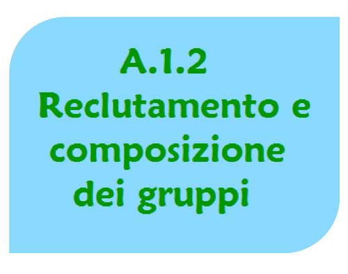 Reclutamento gruppi