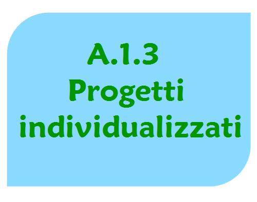 Progetti Individualizzati