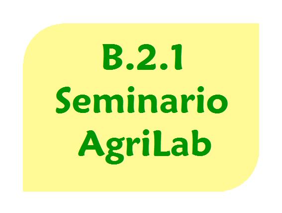 Seminario AgriLab del 17 novembre