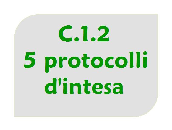 Cinque protocolli d'intesa