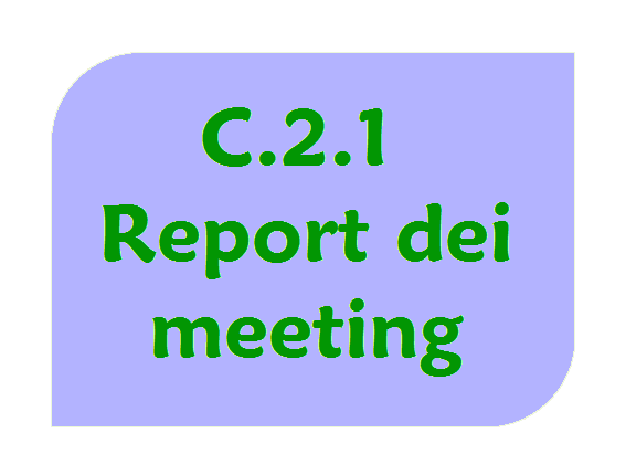 Report dei meeting