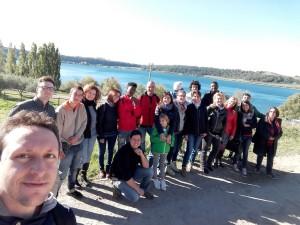 Selfie alla prima esperienza nei campi