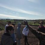 L'acquedotto romano nell'azienda agricola D'Alesio