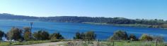 Le rive del lago di Martignano