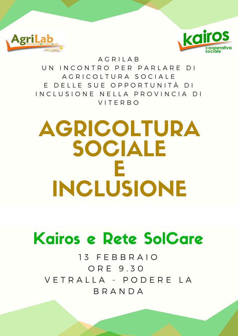 AgriLab: incontro sull'agricoltura sociale in provincia di Viterbo