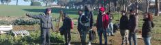 I ragazzi di Campi Ri-Aperti in visita alla Cooperativa Coraggio insieme a Giacomo Lepri