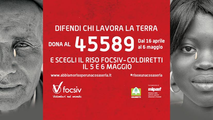Sostieni la campagna Abbiamo #RisoxUnaCosaSeria con un SMS al 45589