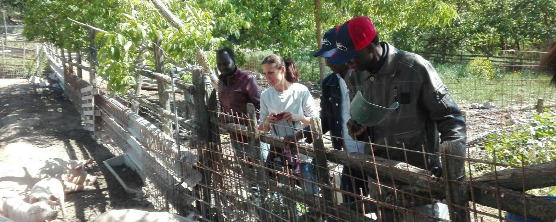 Progetti di agricoltura sociale al Casale di Martignano