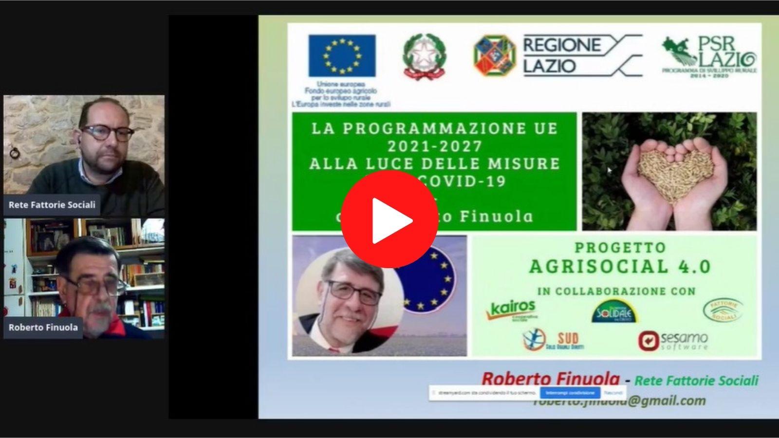 Live con Roberto Finuola - Riguarda il video su Facebook
