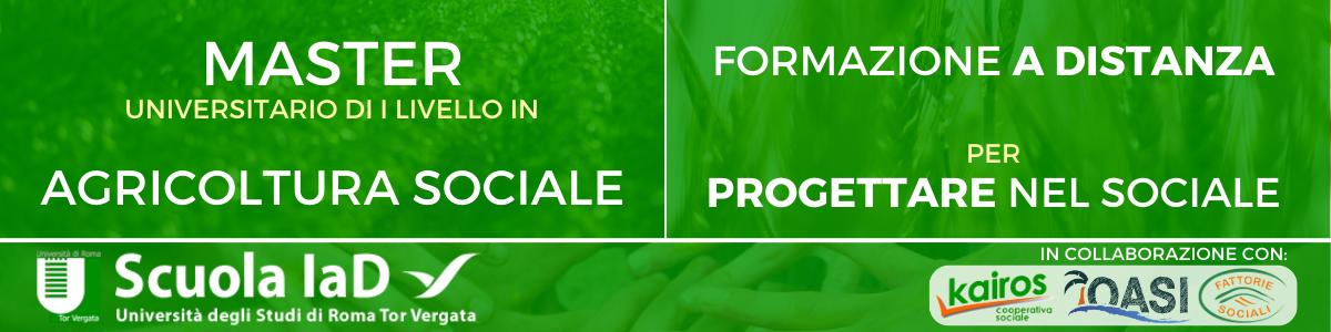 Formazione in agricoltura sociale