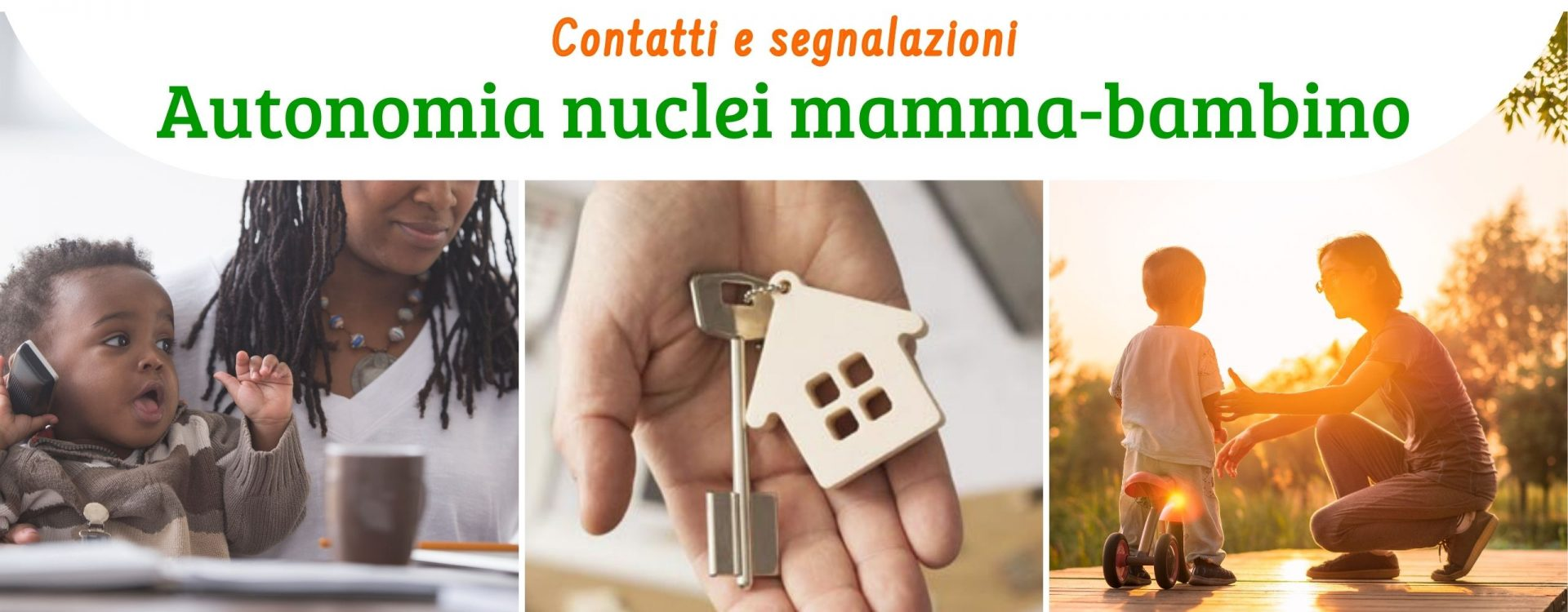 Servizi per l'autonomia dei nuclei mamma-bambino