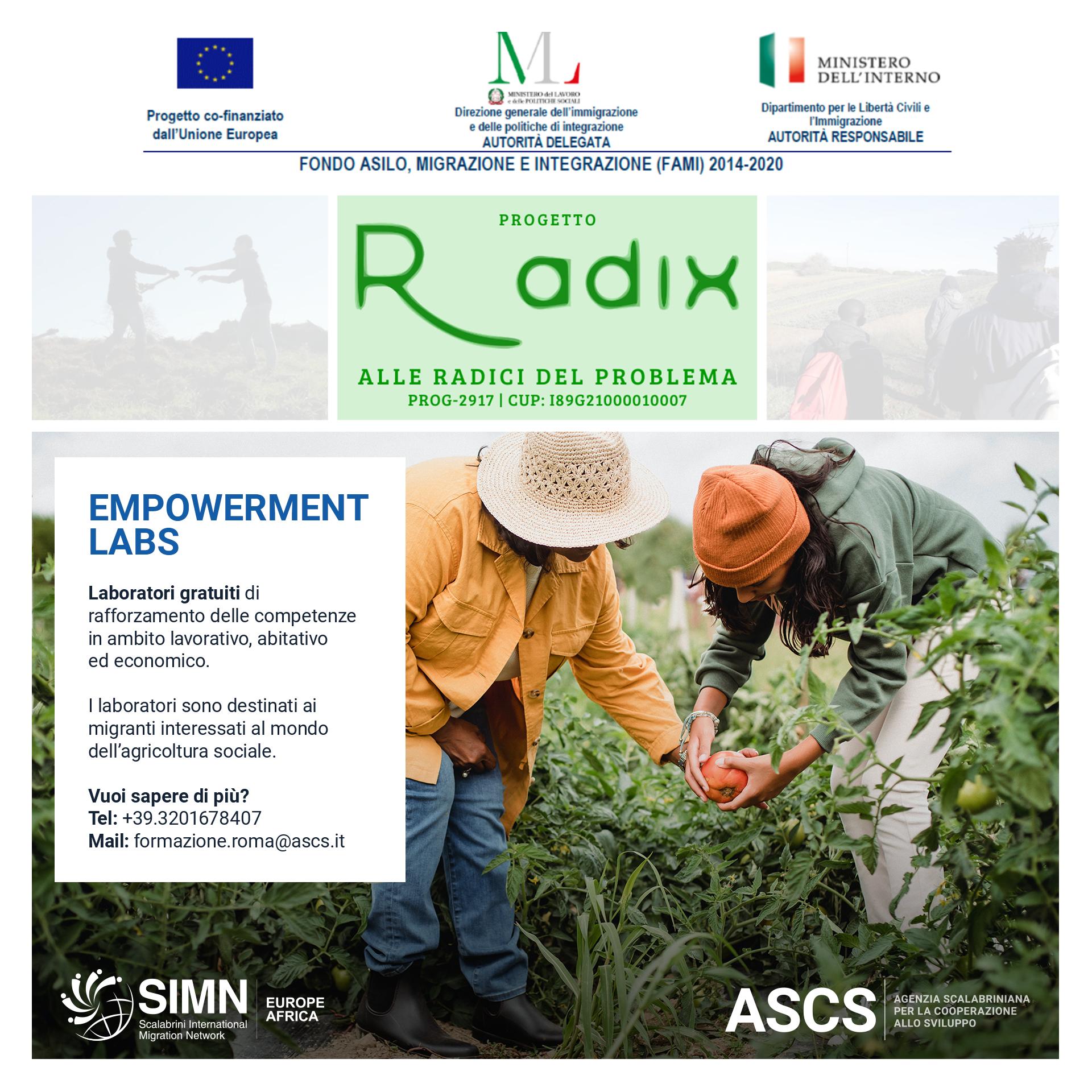 Empowerment Labs Radix
